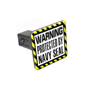Protected By Navy Seal   1 1/4 inch (1.25) Tow Trailer Hitch Cover
