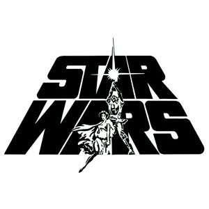 Star Wars Classic Logo Window Decal Sticker S SW 0037 R