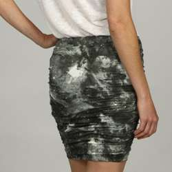 BB Dakota Womens Galaxy Print Jersey Skirt