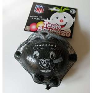 Oakland Raiders Team Squeeze Squishy Stress Ball Football