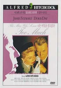 The Man Who Knew Too Much (1956) James Stewart DVD New