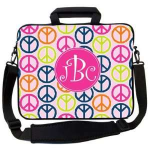 Got Skins Laptop Carrying Bags   Peace Signs 2