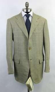 New BORRELLI Napoli Wool & Cashmere Coat Jacket Blazer 54 44 44R NWT $