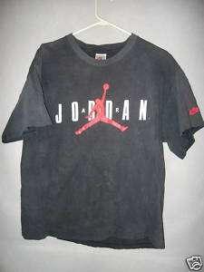v1915 Nike Air Jordan T Shirt Mens L 80% cond