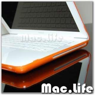 Orange Crystal Hard Case Cover for Macbook 13 unibody
