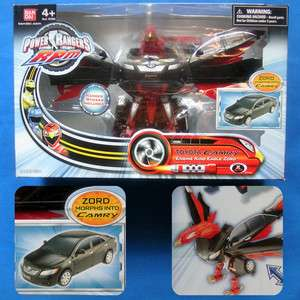 RPM TOYOTA CAMRY TO ENGINE KING EAGLE ZORD MORPH TRANSFORM BANDAI