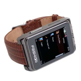 Hot NEWEST Unlocked Ice Cool Metal Wrist Watch Cell Phone AT&T 2G Gift