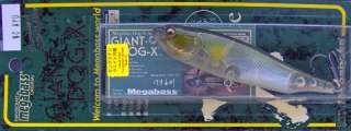 Megabass Giant Dog X ~ Topwater Walking Bait ~ No.19 NC Ayu
