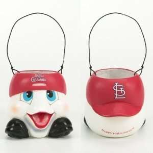 St. Louis Cardinals MLB Halloween Ghost Candy Bucket (6.5