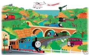 THOMAS the TRAIN Giant Wall Mural Appliques Stickers