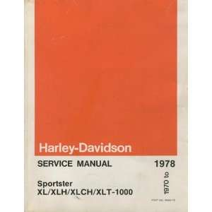 AMF HARLEY DAVIDSON SERVICE MANUAL SPORTSTER XL/XLH/XLCH