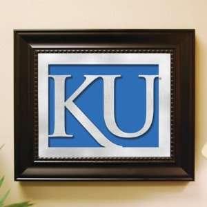 Kansas Jayhawks Laser Cut Logo Wall Art