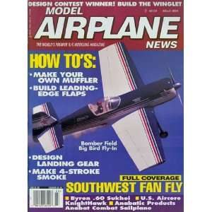 News; the Worlds Premier R/c Modeling Magazine Mar. 1994: Tom Atwood