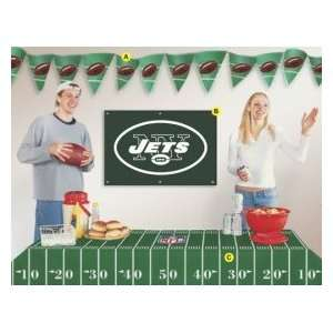 New York Jets Party Decorating Kit: Home & Kitchen