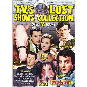 T.V.s Lost Shows Collection TV Shows