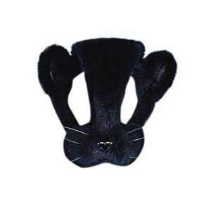 Childs Black Cat Plush Animal Costume Headpiece: Toys