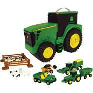 John Deere Carry Case with Accessories