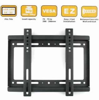 NEW VESA Flat Panel Screen LCD LED Plasma TV Wall Mount Brackets 14