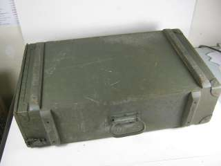 Antique Military Foot locker Rauchbach Trunk WWII