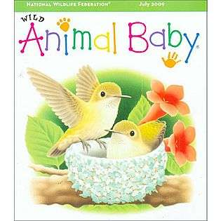 Wild Animal Baby Magazine  Books & Magazines Magazines Animals