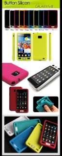 SAMSUNG GALAXY S 2 ll i9100 Button Silicon Soft Case