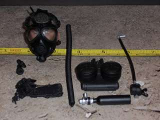 SOLDIER STORY GAS MASK & ACC US NAVY EODMU 11 MODERN 1/6 SCALE hot