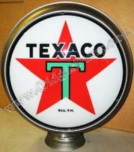 TEXACO T STAR GASOLINE OIL 15 GAS PUMP GLOBE FREE S&H