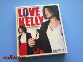 HK Kelly Chen   Love   Greatest Hits CD + VCD 1999