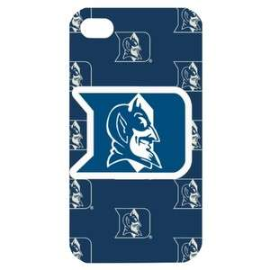 NEW Duke Blue Devils4 Image in iPhone 4 or 4S Hard Plastic Case Cover