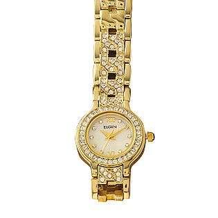 Austrian Crystal Jewelry Watch  Elgin Jewelry Watches Ladies