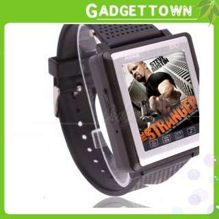 NEW AK810 A Wrist Watch Cell Phone Mobile  Mp4 Black