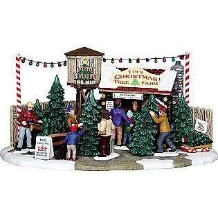 Tims Christmas Tree Farm  Lemax Village Collection Seasonal Christmas