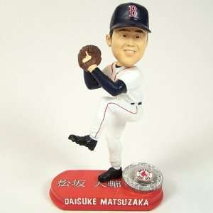 BOSTON RED SOX DICE K MATSUZAKA BOBBLEHEAD BOBBLE: Sports