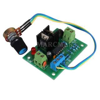 DC 12V 24V 3A Motor Speed Control PWM HHO RC Controller |