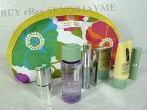 TRINA TURK Clinique Beauty Eye Cosmetic Bag Case NEW