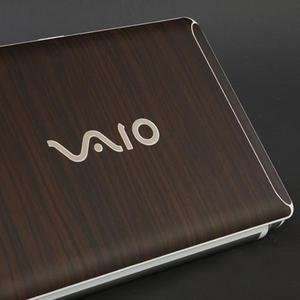 SONY VAIO W Laptop Cover Skin [Walnut Wood] Electronics