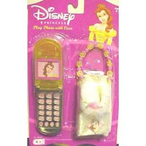 Disney Princess Play Phone with Case Belle YELLOW Toys & Games
