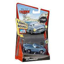 Disney Pixar Cars 2 Scale Light & Sounds Die Cast Vehicle   Finn