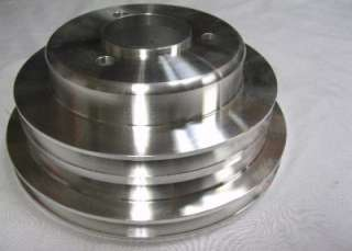 Big Block Chevy Long Water Pump Crankshaft & Power Steering Aluminum