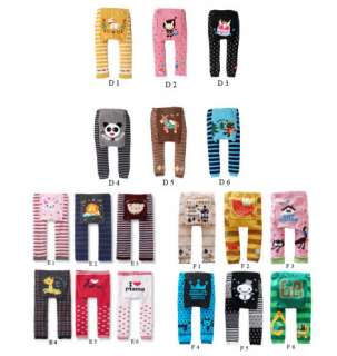 Cute New Boy Girl Baby Infants Pants Trousers Animal Leggings