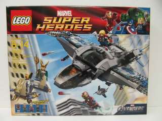 LEGO Marvel Super Heroes The Avengers 6869 Quinjet Aerial Battle Ages