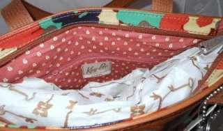 Fossil Key Per Floral Shopper Bag Purse Handbag NWT ZB5126919