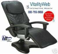 BLACK HT 095 Robotic Human Touch Massage Chair Recliner