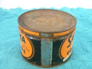 Sanka Coffee Tin One Pound Maxwell House Division