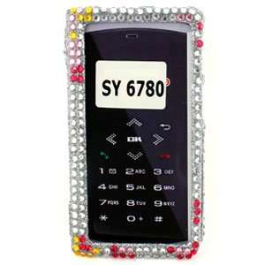 Pink Flower Snap On Cover for Sanyo Innuendo 6780