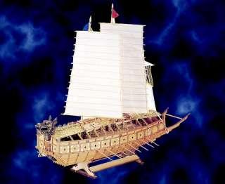 Korea Turtle War Ships Model kit Wooden 1/65 Scale toys