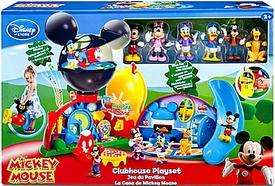 MICKEY MOUSE CLUBHOUSE DELUXE PLAYSET & 6 FIGURES MINNIE