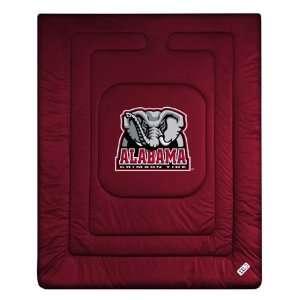 NCAA ALABAMA CRIMSON TIDE LR Comforter   Twin, Full/Queen