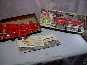 Model Kit Rare Kit Aurora Chevy Custom Pick Up