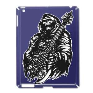 iPad 2 Case Royal Blue of Grim Reaper Heavy Metal Rock